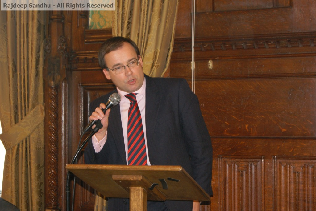 Lecture by Gareth Thomas MP