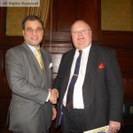 Lord Bilimoria and Eric Pickles, MP